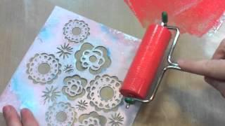 reverse stencil technique