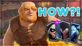 MY FAVORITE CCGS TOURNAMENT DECK! Giant Miner Madness – Clash Royale