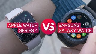 Apple Watch Series 4 vs. Samsung Galaxy Watch