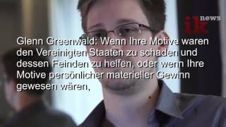 Interview mit Edward Snowden (Prism Whistleblower)