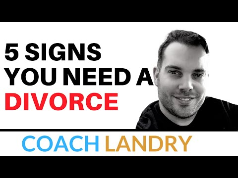 5 Signs You Need A DIVORCE