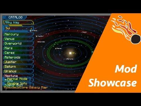 Todo lo necesario para sobrevivir en el espacio - Galacticraft:Galaxy Space Mod Showcase