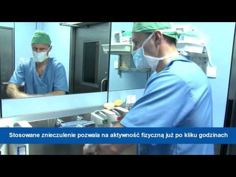 Chirurgiczna na kości palucha permu