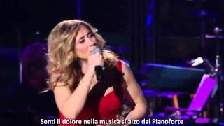 Lara Fabian  Caruso With  Lyrics (David Foster And Friends Performance)