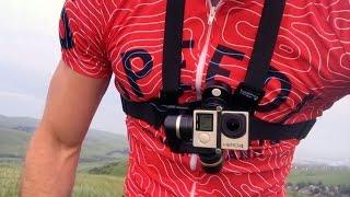 Mountain biking with the Feiyu Tech Wearable Gimbal