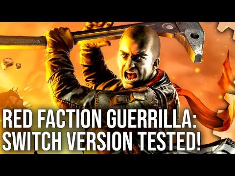 Red Faction Guerrilla on Switch: Handheld Destruction Like Nothing Else On The System