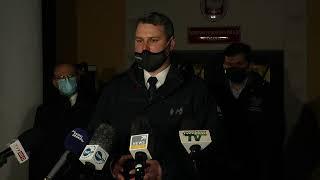 Briefing władz wojewódzkich i policji w Zakopanem