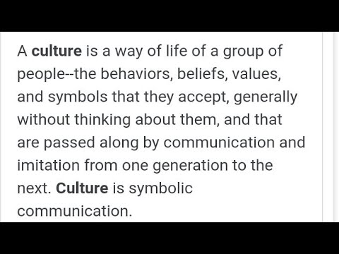 Why Do They Say Blacks Don't Have A Culture???!!!