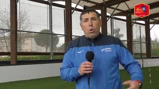 Réaction de Joël Bonnal suite au match Pôle Espoir - FCGB