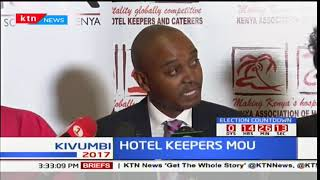 HOTEL KEEPERS MOU: Hotelliers sign MoU better tariffs