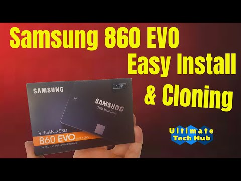 HOW TO USE SAMSUNG'S DATA MIGRATION SOFTWARE 860 EVO 1 TB INSTALL