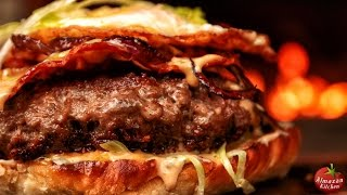 Ultimate Bacon Burger! - Cooking Outside - Video Youtube