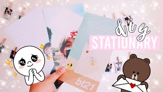 K-Pop 💌 Penpal Stationery DIY + Collaboration💕 | Hunnie Bunnie