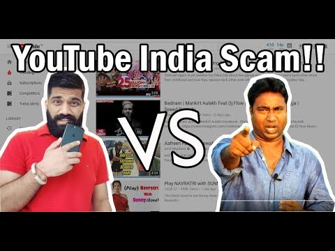 Exposing YOUTUBE INDIA Trending page, Supporting