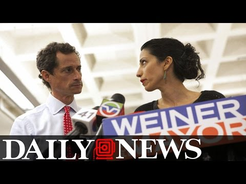 Clinton Aide Sent Classified Emails To Ex Husband Anthony Weiner