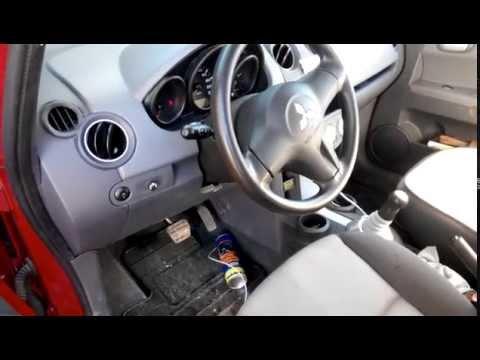 Чиcтка кондиционера на Mitsubishi Colt