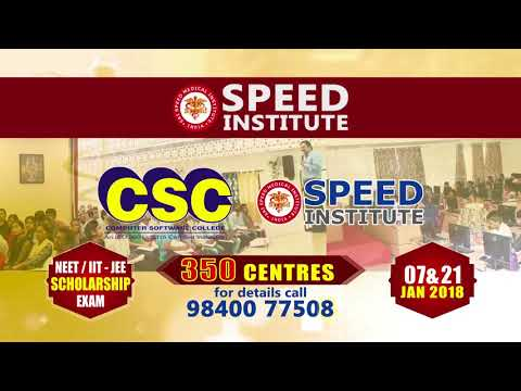 SPEED Scholarship Exam – NEET UG/IIT JEE