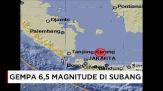 Gempa 65 Magnitude Melanda Subang