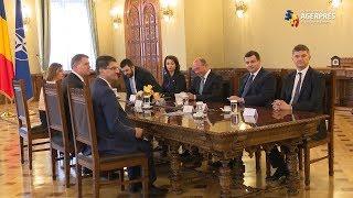 Consultări la Cotroceni/ Preşedintele Iohannis discută cu delegaţia PMP