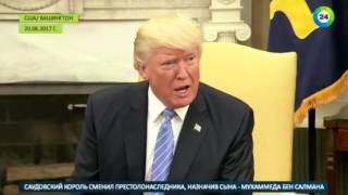 Порошенко назвал Трампа вторым Рейганом - МИР24