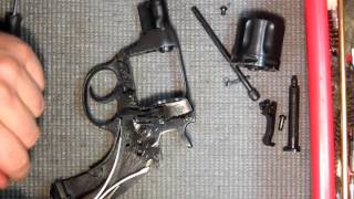 M1895 Nagant revolver full disassembly and reassembly