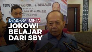 Demokrat Minta Jokowi Harus Belajar dari SBY soal Pelanggaran Kedaulatan