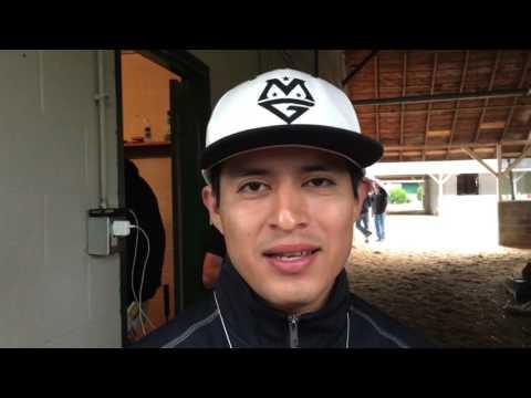 Mario Gutierrez Discusses Kentucky Derby Ride