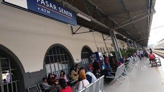Hari Kedua Lebaran, Jumlah Pemudik di Stasiun Pasar Senen Masih Ramai