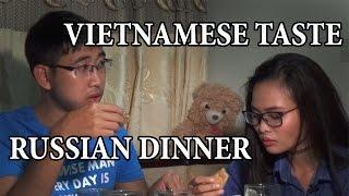 Вьетнамцы пробуют русский обед. Treasure Hunters / Кладоискатели