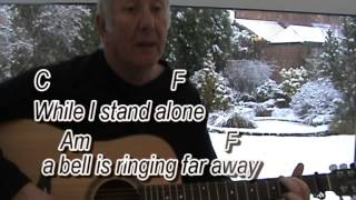 A Winters Tale - David Essex - cover - easy chords guitar lesson with on-screen chords and lyrics
