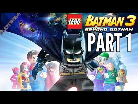 Lego Batman 3 - Beyond Gotham #1   A ZASE TEN KUS ŠROTU