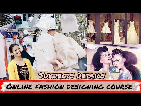 Online fashion designing course in Hindi - YouTube