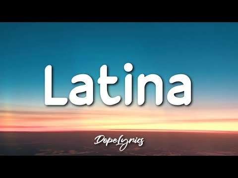 Sleep Calvin - Latina (Lyrics) 🎵