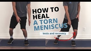 Knee Meniscus Tear Tests and Exercises for Full Recovery