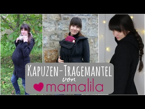Kapuzen-Tragemantel von Mamalila | Review