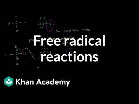 Free radical reactions (video) | Khan Academy