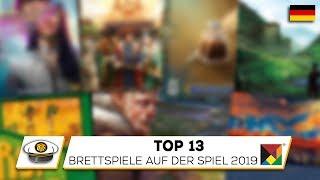 Top 13 NEUE Brettspiele auf der Essen SPIEL 2019