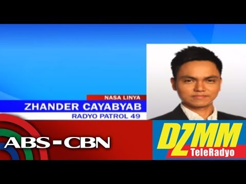 [ABS-CBN]  DZMM TeleRadyo: Ex-CamSur vice mayor killed in road accident