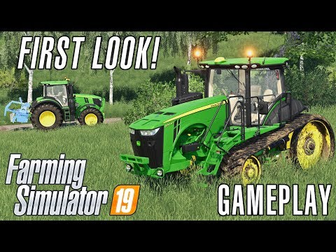 Gameplay de Farming Simulator 19