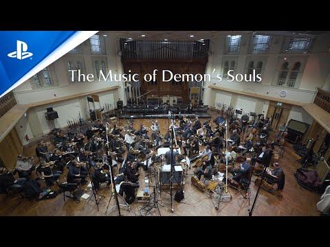 صورة ما خلف الكواليس لتسجيل ألحان Demon's Souls