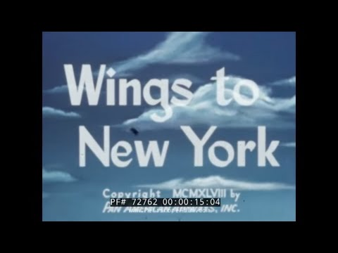 PAN AMERICAN AIRLINES NEW YORK CITY TRAVELOGUE 72762 Mp3