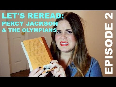LET'S REREAD: PERCY JACKSON AND THE OLYMPIANS EPISODE 2