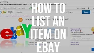 How To List On eBay. Detailed Step By Step Tutorial For Beginners