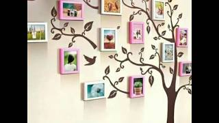 Family Tree Wall Decor Ideas || Wall Photo Frame Ideas