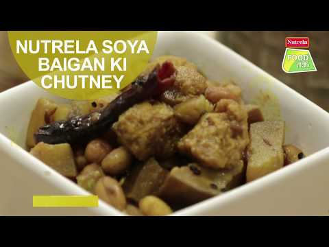 Nutrela Soya Baigan Ki Chutney