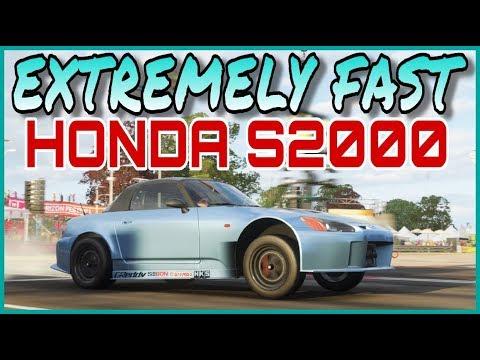 EXTREMELY FAST HONDA S2000 DRAG TUNE - FORZA HORIZON 4 - смотреть