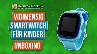 Vidimensio Smartwatch für Kinder im Videotest: