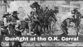 26th October 1881: The gunfight at the O.K. Corral involving Wyatt Earp