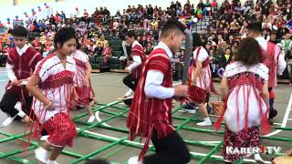 Karen1TV- Karen New Year BamBoo Dance 2018