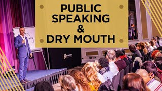 Why Do You Get Dry Mouth Before You Present Publicly?
